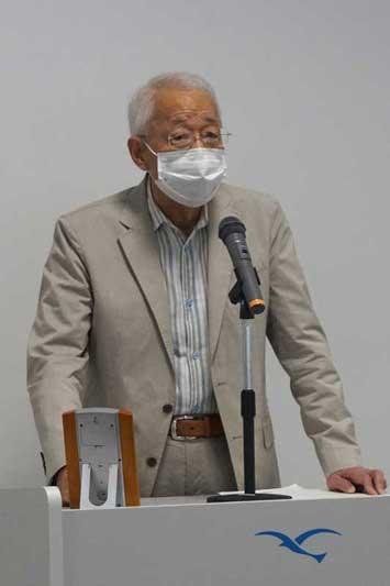 調講演を行う工藤恭考氏